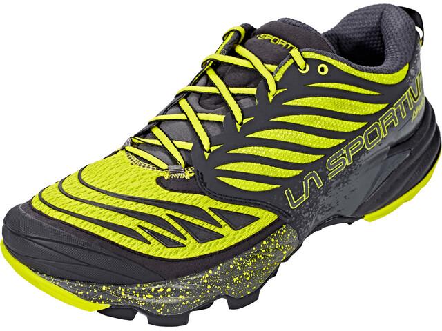 La Sportiva Akasha Running Shoes Men Black/Sulphur